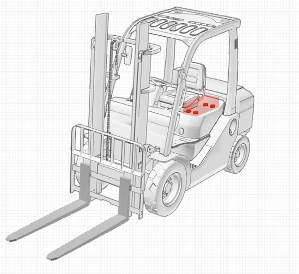 Material Handling - Vehicle Accessory Isolation