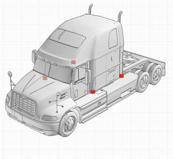 Truck - Cab Suspension