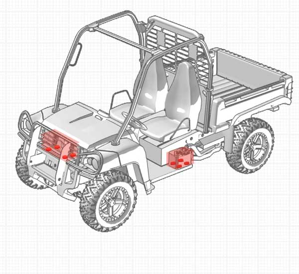 Recreational and Utility - Vehicle Accessory Isolation