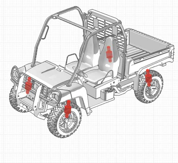 Recreational and Utility - Primary Suspension