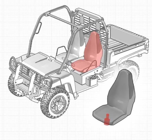 Recreational and Utility - Semi-Active Seat Suspension