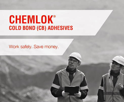 Chemlok CB One-Component Rubber-to-Metal Cold-Bonding Adhesives