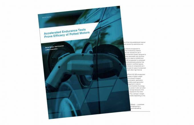 cover image and inside page of motor white paper